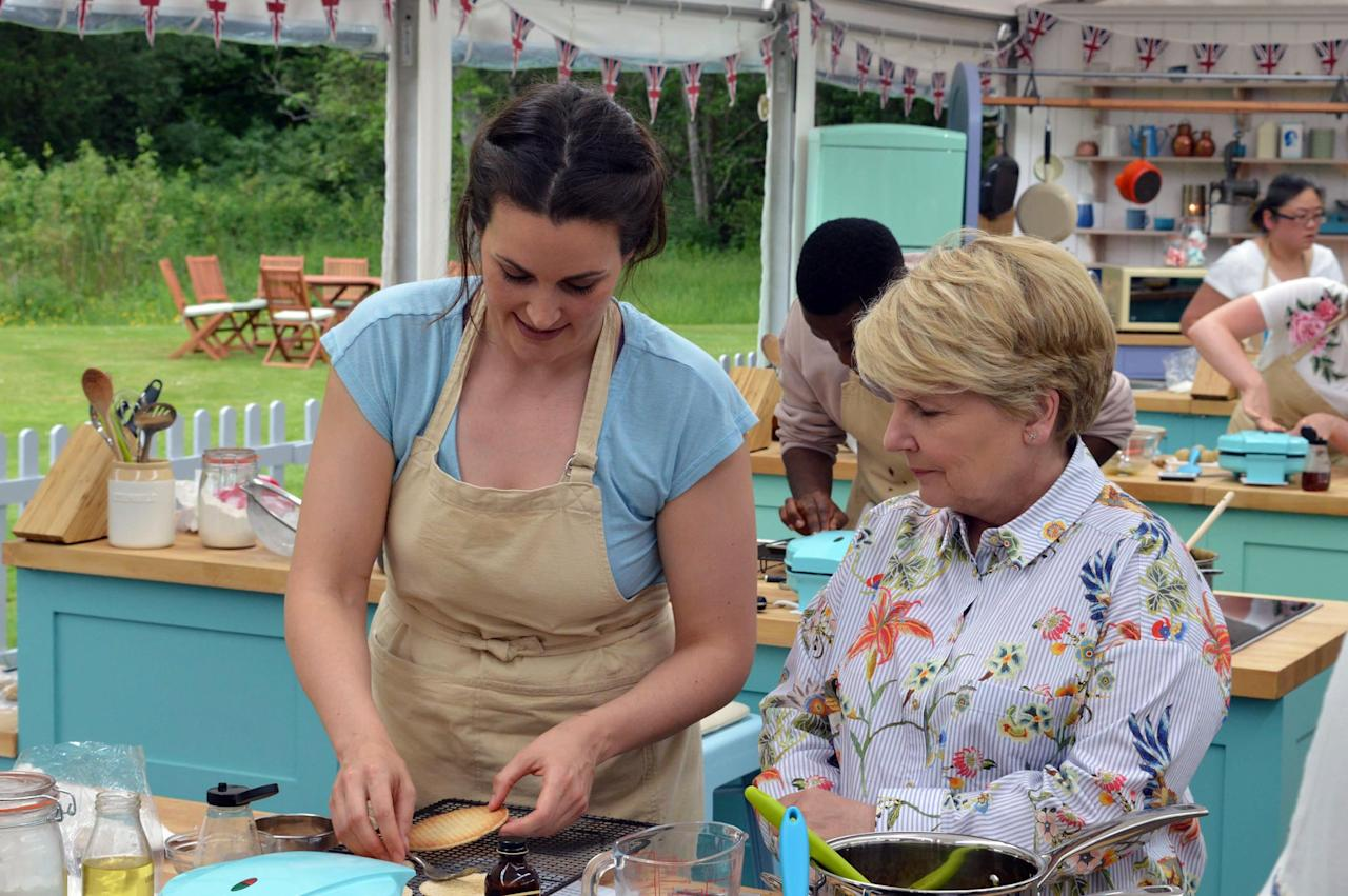 """<p>The unfailingly polite and adorable baking competition series introduces a new group of amateur competitors every season, with the participants hoping to score the title of UK's best baker. This one is sure to give you the munchies (but just promise us you won't try anything too complicated in the kitchen). </p> <p><a href=""""http://www.netflix.com/title/80063224"""" target=""""_blank"""" class=""""ga-track"""" data-ga-category=""""Related"""" data-ga-label=""""http://www.netflix.com/title/80063224"""" data-ga-action=""""In-Line Links"""">Watch <strong>The Great British Baking Show</strong> on Netflix</a>. </p>"""