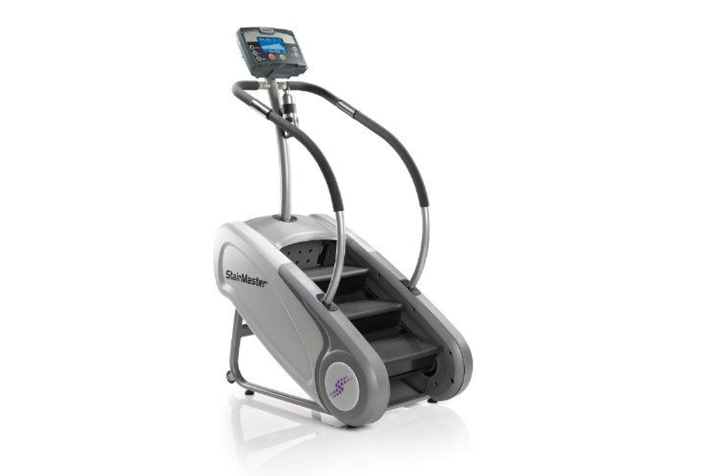 """<p><strong>StairMaster</strong></p><p>amazon.com</p><p><strong>$3399.00</strong></p><p><a href=""""http://www.amazon.com/dp/B00B1W8N0A/?tag=syn-yahoo-20&ascsubtag=%5Bartid%7C2140.g.28638621%5Bsrc%7Cyahoo-us"""" target=""""_blank"""">Shop Now</a></p><p><strong>Why trainers love it: </strong>""""It's so functional! It can be made more challenging but also works for beginners as well with little skill required,"""" Peel says. </p><p>That being said, it still totally <a href=""""https://www.womenshealthmag.com/fitness/a19976415/stair-stepper-workout/"""" target=""""_blank"""">gets your heart pumping</a> as it works your quads, glutes, hamstrings, calves, and core. """"It directly targets the concentric part of our walking/running gait and immediately spikes heart rate,"""" Kanski says. </p><p><strong>Where to start: </strong>When just beginning, stick to tangible goals such as aiming to climb 50 floors, Peel suggests. </p><p><strong>If you want to level up: </strong>T<strong></strong>hen with every workout session that follows, add 20 floors until you hit 110 floors, per Peel. """"Make note of the time it takes you to complete each (50, 70, 90, and 110 floors), then repeat this the following week from 50 floors with the goal of beating each time from the previous week.""""<strong></strong></p>"""