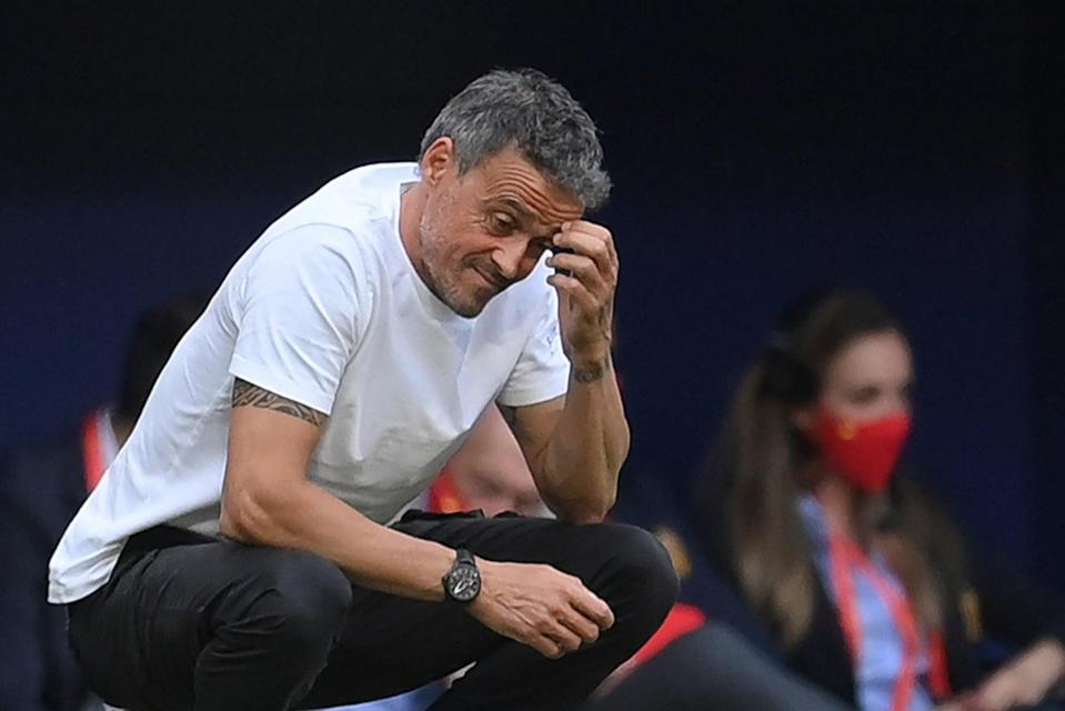 <p>Spain manager Luis Enrique has seen two players test positive for Covid</p> (Getty Images)