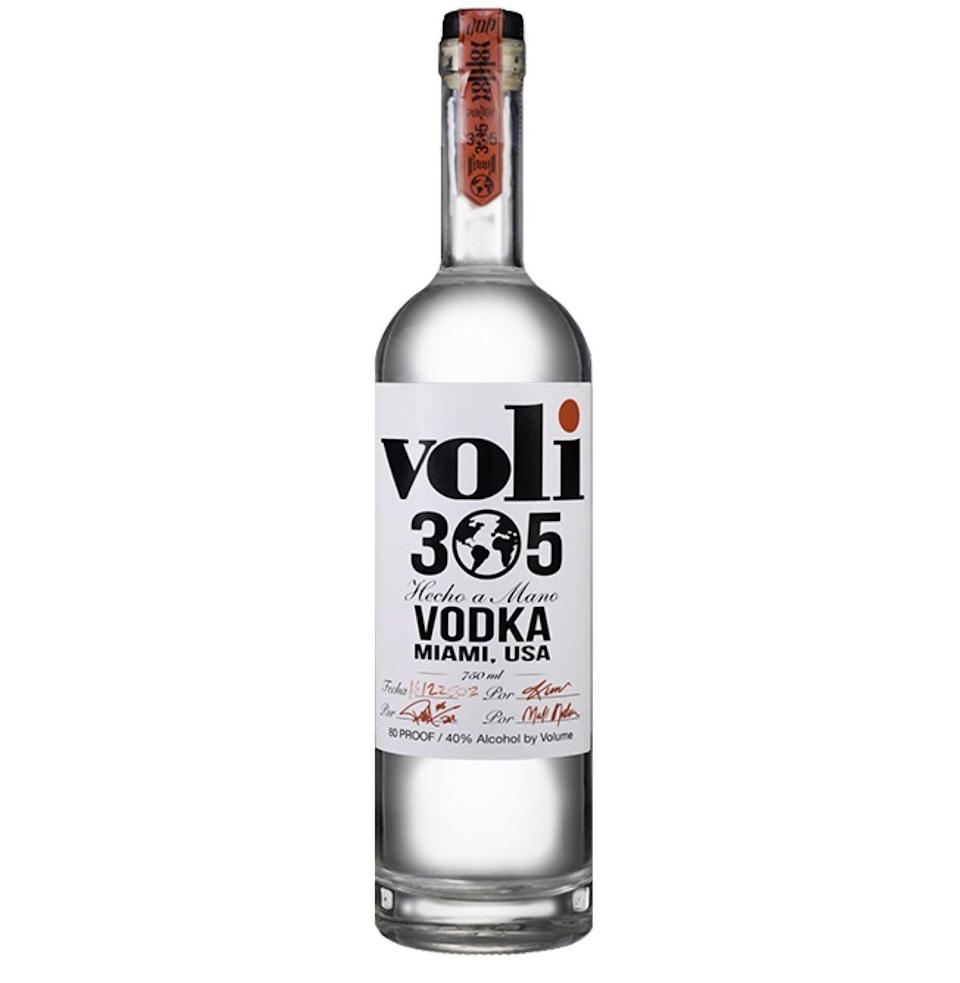 """<p><a class=""""link rapid-noclick-resp"""" href=""""https://caskcartel.com/products/pitbull-voli-305-vodka"""" rel=""""nofollow noopener"""" target=""""_blank"""" data-ylk=""""slk:Shop"""">Shop</a> <em>caskcartel.com</em></p><p>Founded by Armando Christian """"Pitbull"""" Perez (betcha didn't know his real name), this Miami-produced vodka is said to be distilled 17 times, then filtered through a freeze filter, an anti-gravity charcoal filter, a coconut husk filter, and probably a filter made of reflective sunglasses and pencil-thin mustaches as well. <br> <strong><br></strong><em><strong>Taste:</strong> </em>4<strong><br></strong><em><strong>Star power:</strong> </em>7<strong><br><em>Shamelessness: </em></strong>8<br></p>"""