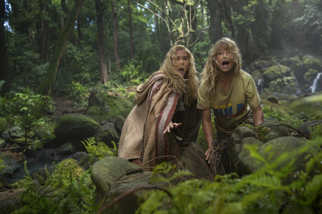 <p>Amy Schumer gets Goldie Hawn to play her mum in this tale of a mother-daughter holiday to South America gone horribly, horribly wrong. (Credit: 20th Century Fox) </p>