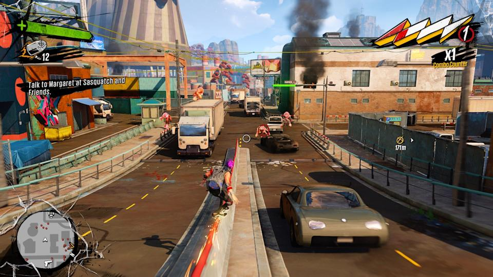A screenshot of a game running on Xbox Series X.