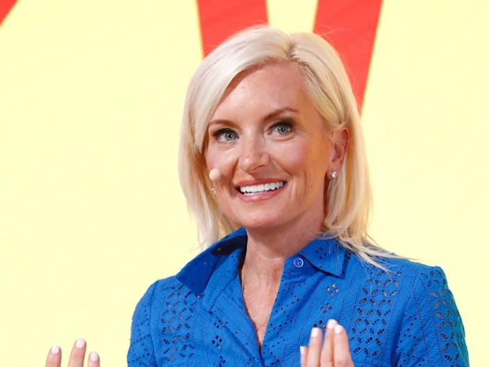 Carolyn Everson, is the VP of global marketing solutions at Facebook