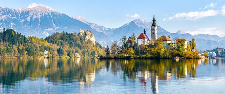 <cite>JGA / Shutterstock</cite> <br>Slovenia is storybook pretty.<br>