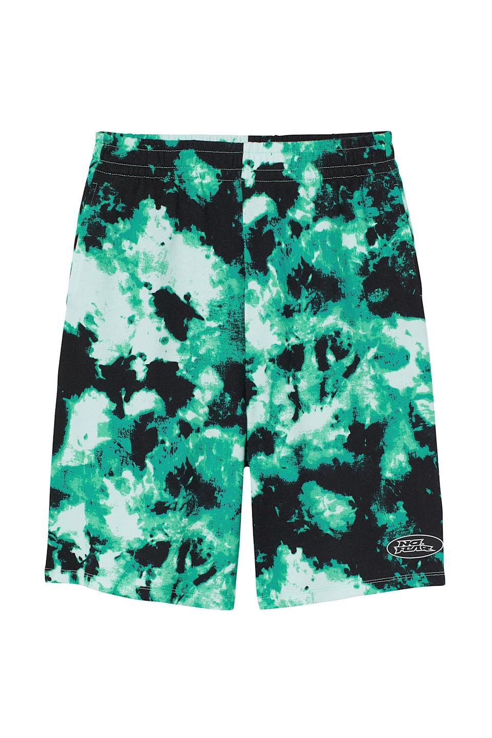 <p>When we think of skate shorts, we think of something like these <span>No Fear x H&amp;M Wide-cut Shorts</span> ($18). Paired with a crop top and low top sneakers, it looks like you time traveled from the '90s.</p>