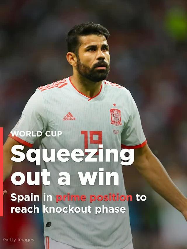 Spain, the 2010 champions, got a good scare from Team Melli but eventually prevailed 1-0 through a fortunate Diego Costa goal.
