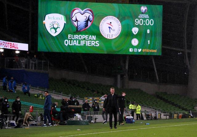 Defeat turns up the heat on Republic of Ireland manager Stephen Kenny