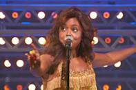 """<p><a href=""""https://ew.com/theater/2019/10/17/adrienne-warren-tina-turner-broadway/"""" rel=""""nofollow noopener"""" target=""""_blank"""" data-ylk=""""slk:Adrienne Warren"""" class=""""link rapid-noclick-resp"""">Adrienne Warren</a> proved that she earned that Best Actress in a Musical trophy with an ecstatic medley from <a href=""""https://ew.com/theater-reviews/2019/11/07/tina-the-tina-turner-musical-review/"""" rel=""""nofollow noopener"""" target=""""_blank"""" data-ylk=""""slk:Tina: The Tina Turner Musical"""" class=""""link rapid-noclick-resp""""><em>Tina: The Tina Turner Musical</em></a>, centered around her performance as the Queen of Rock 'n' Roll. Beginning with the power ballad """"We Don't Need Another Hero"""" (a.k.a. the love theme from <em>Mad Max Beyond Thunderdome</em>) and soaring through rollicking renditions of """"Simply the Best"""" and """"Proud Mary,"""" Warren and the <em>Tina</em> ensemble surely built plenty of buzz for the musical's reopening next month.</p>"""