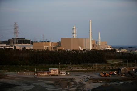 FILE PHOTO: Chubu Electric Power Co.'s Hamaoka Nuclear Power Station is seen in Omaezaki