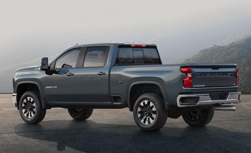 The New 2020 Chevrolet Silverado HD Looks Way Different ...