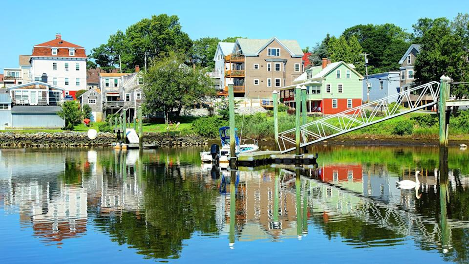 Pawtuxet Village is a section of the New England cities of Warwick and Cranston, Rhode Island.