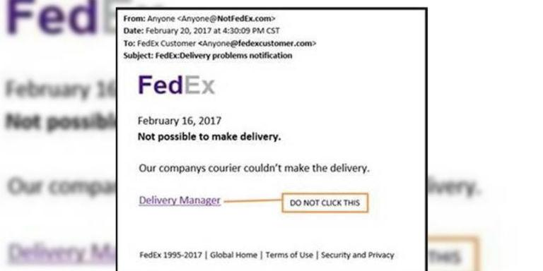 FedEx Warns Customers About Fake Email Scam Ahead of Christmas