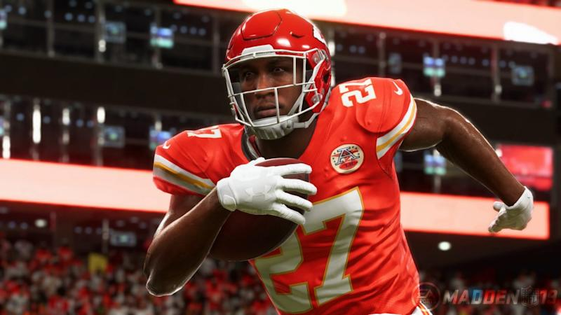 low priced 91633 f5e39 Former Chiefs Running Back Kareem Hunt Removed From 'Madden ...