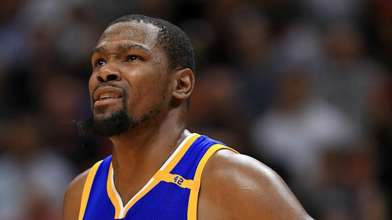 Durant wants to stay with Warriors: 'I don't plan on going anywhere else'