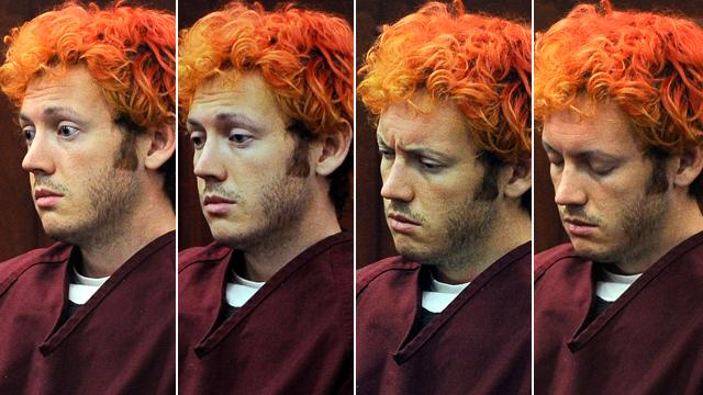 James Holmes Spitting At Correction Officers, Forcing Use of Spit Guard