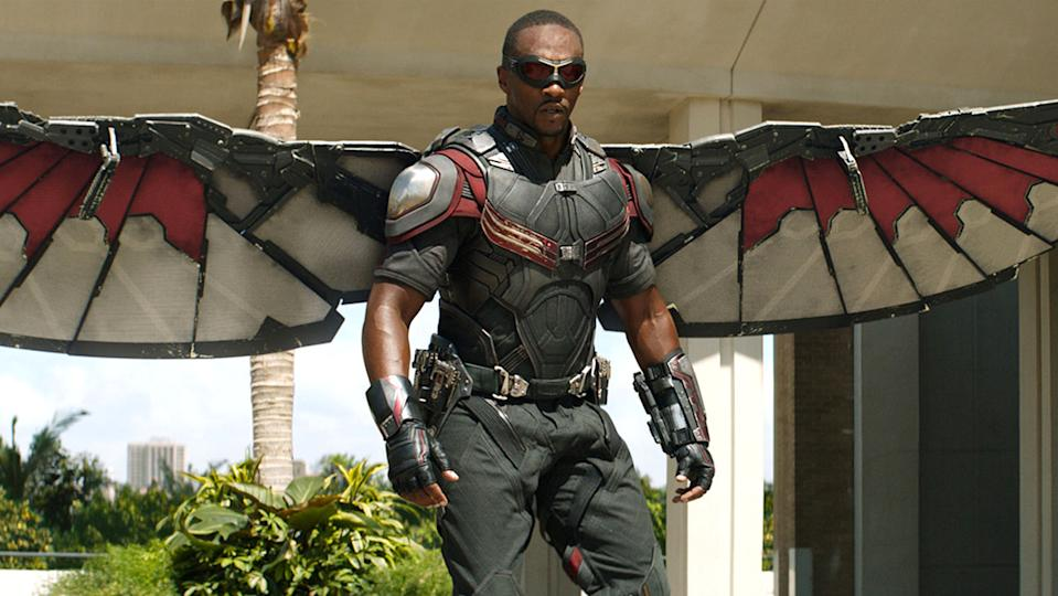 Is there room on those wings for a shield? (Image by Marvel)