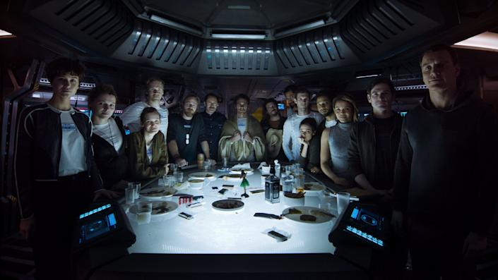 """Directed by Ridley Scott &bull; Written by Dante Harper and John Logan<br><br>Starring Katherine Waterston, Michael Fassbender, Billy Crudup, Carmen Ejogo, Danny McBride and&nbsp;Demi&aacute;n Bichir<br><br><strong>What to expect:&nbsp;</strong>The 2012 prequel """"Prometheus"""" marked Ridley Scott's return to the """"Alien"""" franchise, 33 years after he made the near-perfect original. """"Alien: Covenant"""" picks up 10 years after the events of """"Prometheus,"""" with a colony ship headed to a remote planet where a life-threatening lone&nbsp;inhabitant is found.<br><br><i><a href=""""https://www.youtube.com/watch?v=svnAD0TApb8"""" rel=""""nofollow noopener"""" target=""""_blank"""" data-ylk=""""slk:Watch the trailer"""" class=""""link rapid-noclick-resp"""">Watch the trailer</a>.</i>"""