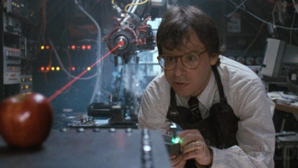 Rick Moranis in 'Honey, I Shrunk the Kids'. (Credit: Buena Vista Pictures)