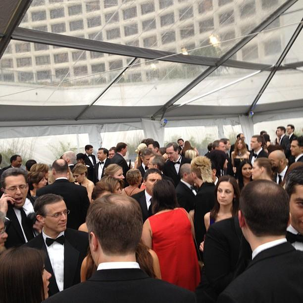 ABC/Yahoo! News party at #whcd is hopping! #whcd
