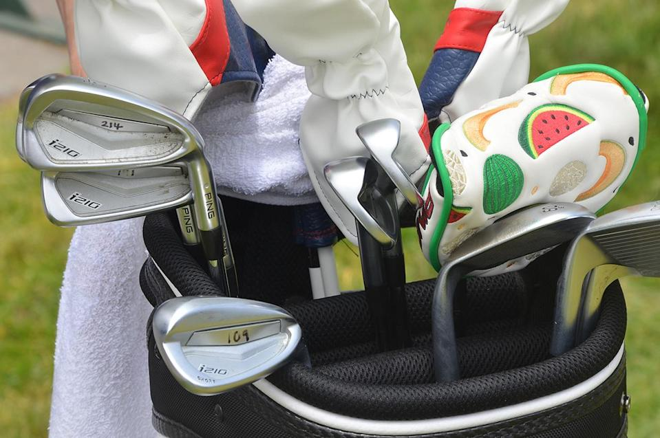 Lee Westwood's Ping irons
