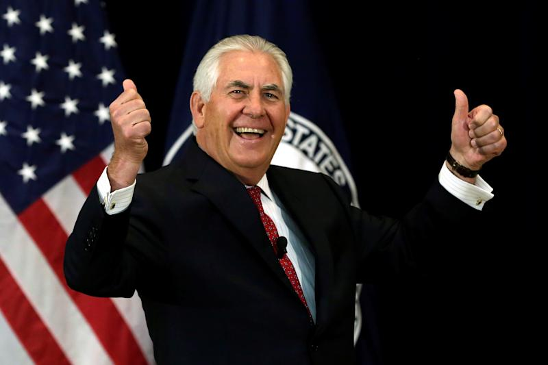 Tillerson: US won't insist nations adopt US values, rights