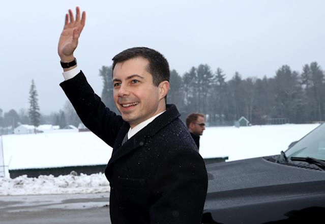 Pete Buttigieg. (Photo by Win McNamee/Getty Images)
