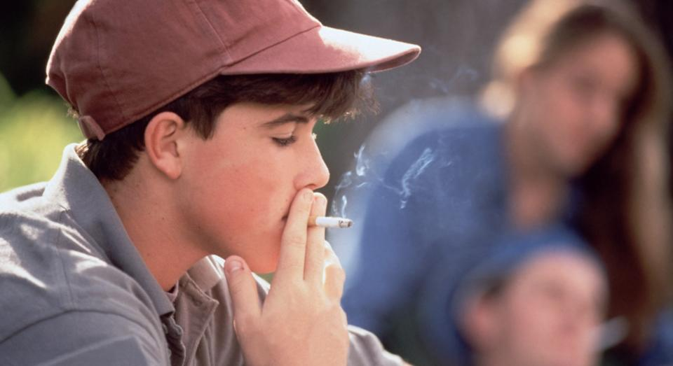 Two-thirds of kids who start smoking at a young age go on to be daily smokers, Action on Smoking and Health says (Posed by model, Getty)