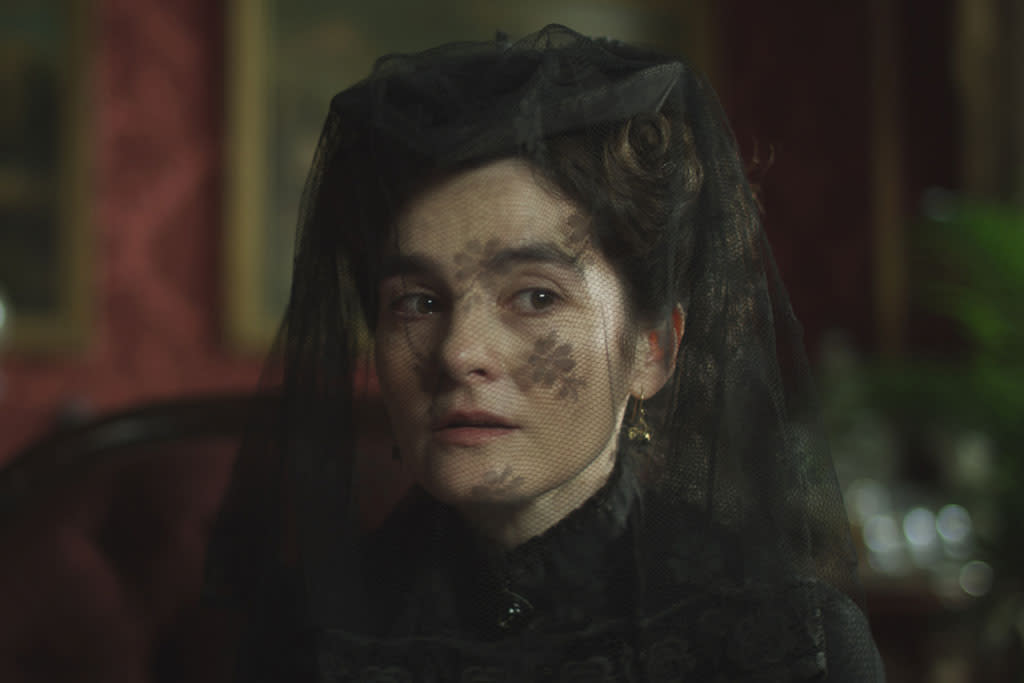 "Shirley Henderson as Emmeline Fox in ""The Crimson Petal and the White"" on Encore."