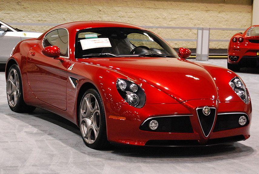 <p>One of few recent cars to successfully blend traditional beauty with modern poise, the 8C was also known for its difficult handling.</p>