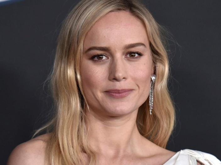 """Brie Larson in February 2020. <p class=""""copyright"""">Richard Shotwell/Invision/AP</p>"""