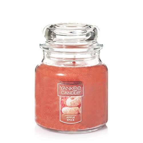 "<p>Did someone say apple cider doughnuts? The <a href=""https://www.popsugar.com/buy/Apple-Spice-Medium-Classic-Jar-Candle-479704?p_name=Apple%20Spice%20Medium%20Classic%20Jar%20Candle&retailer=yankeecandle.com&pid=479704&price=27&evar1=casa%3Aus&evar9=46496957&evar98=https%3A%2F%2Fwww.popsugar.com%2Fphoto-gallery%2F46496957%2Fimage%2F46497085%2FApple-Spice-Medium-Classic-Jar-Candle&list1=fall%2Ccandles%2Cyankee%20candle&prop13=api&pdata=1"" rel=""nofollow"" data-shoppable-link=""1"" target=""_blank"" class=""ga-track"" data-ga-category=""Related"" data-ga-label=""https://www.yankeecandle.com/product/apple-spice/_/R-1317234"" data-ga-action=""In-Line Links"">Apple Spice Medium Classic Jar Candle</a> ($27) smells exactly like the Fall treat.</p>"