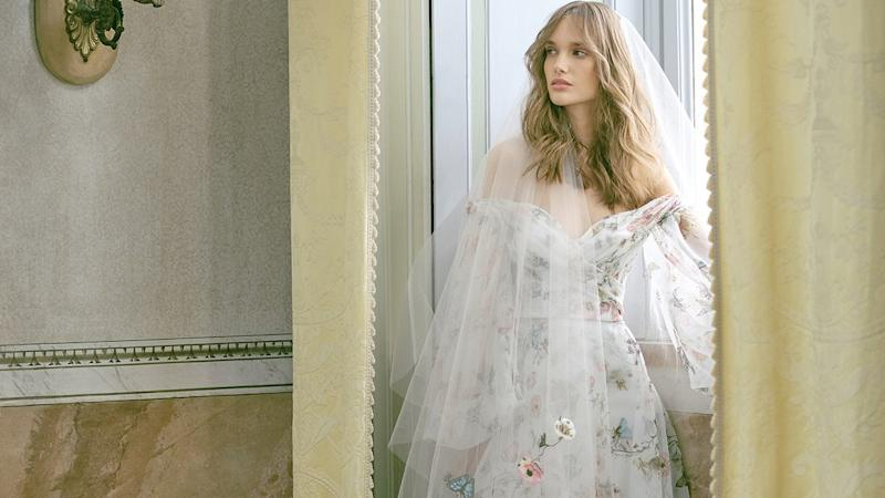 Monique Lhuillier Fall 2020 Wedding Dress Collection