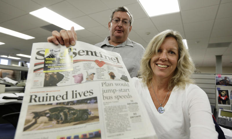 Denver Post wins Pulitzer for coverage of massacre