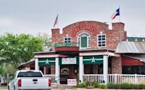 """<p>Saltgrass Steak House — one of <a href=""""https://www.thedailymeal.com/eat/best-casual-steakhouse-chains?referrer=yahoo&category=beauty_food&include_utm=1&utm_medium=referral&utm_source=yahoo&utm_campaign=feed"""" rel=""""nofollow noopener"""" target=""""_blank"""" data-ylk=""""slk:America's favorite casual steakhouse chains"""" class=""""link rapid-noclick-resp"""">America's favorite casual steakhouse chains</a> — will accept orders for Thanksgiving dinner from Nov. 3 through Nov. 24 at 3 p.m. for pickup on Nov. 25 or at 10 a.m. on Nov. 26. The $19.99 plate includes turkey, gravy, mashed potatoes, green bean casserole, stuffing and cranberry sauce; and the $69.99 family pack, which feeds four, includes the same, plus bread and butter with salad and a dressing of your choosing. Substitute mashed potatoes for <a href=""""https://www.thedailymeal.com/cook/25-amazing-mac-and-cheese-recipes-0?referrer=yahoo&category=beauty_food&include_utm=1&utm_medium=referral&utm_source=yahoo&utm_campaign=feed"""" rel=""""nofollow noopener"""" target=""""_blank"""" data-ylk=""""slk:mac and cheese"""" class=""""link rapid-noclick-resp"""">mac and cheese</a> for $4 more or add a whole pumpkin cheesecake for $48.</p>"""