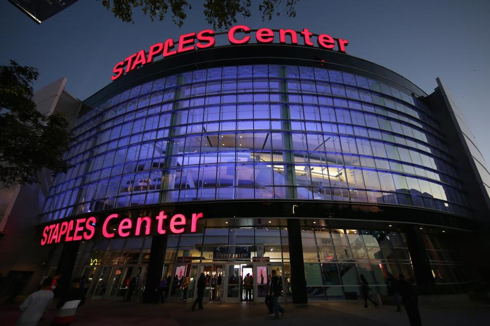 <p>The event will take place behind closed doors at Staples Center in Los Angeles, California</p>Getty Images