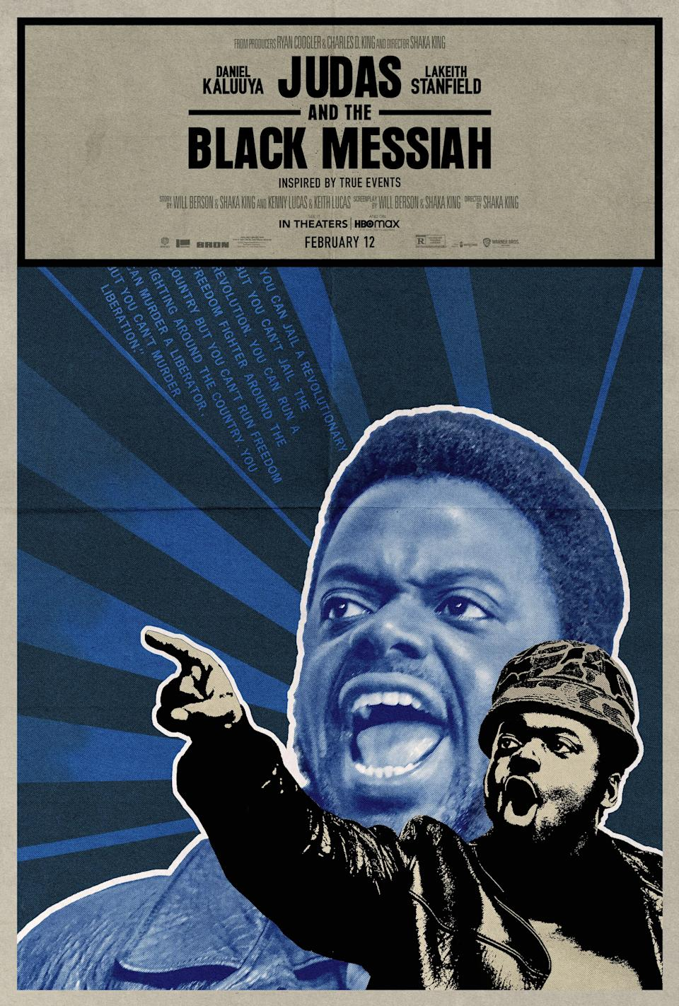 Emory Douglas 'Judas and the Black Messiah' Poster