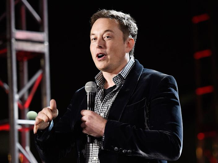 Elon Musk is still unsure who he'll vote for in the US presidential election. (Getty Images)