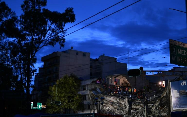 Tuesday's earthquake, which struck on the 32nd anniversary of the devastating 1985 quake, toppled 39 buildings in Mexico City
