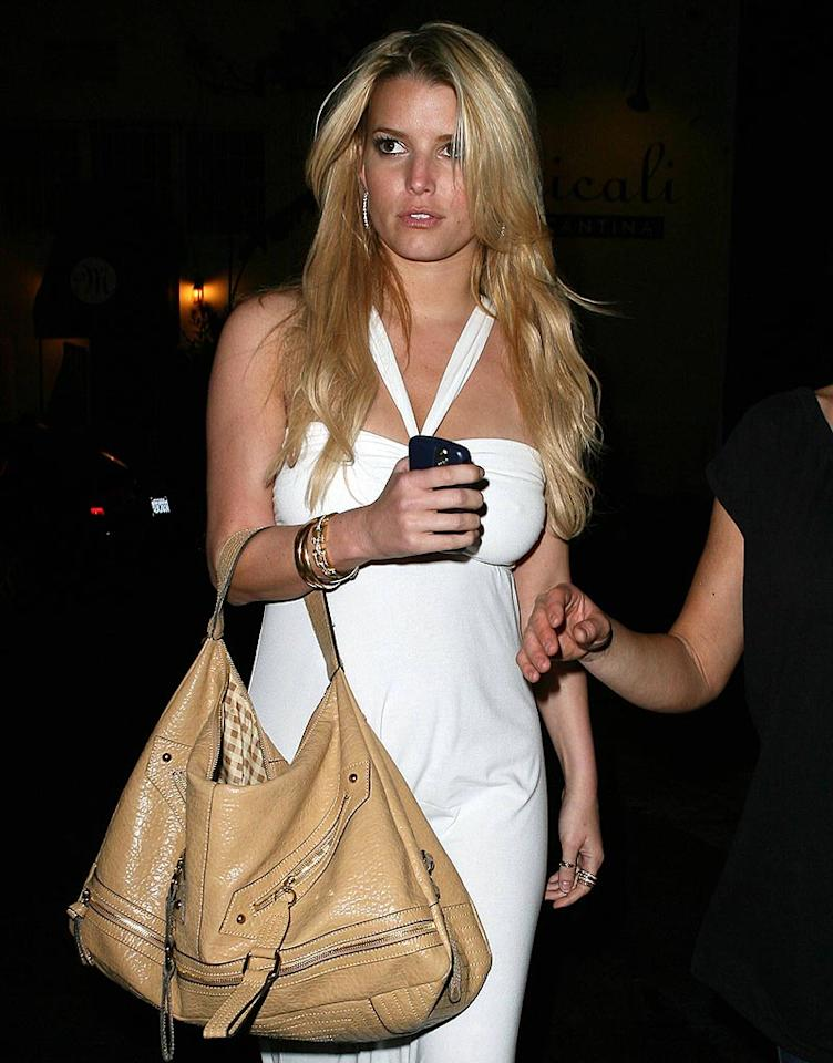 "Speaking of John Mayer, Jessica Simpson hasn't seemed super since splitting with the singer/songwriter. Despite the comfort of her current beau Tony Romo, the blond bombshell is beyond stressed thanks to a stalled music career, a meddling father, and a younger sister who's not only married but pregnant. LAX/<a href=""http://www.x17online.com"" target=""new"">X17 Online</a> - May 10, 2008"