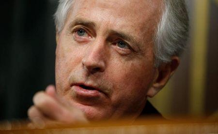 FILE PHOTO: Senate Foreign Relations Committee Chairman Bob Corker in Washington, U.S. January 11, 2017. REUTERS/Kevin Lamarque