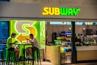 "<p>Azodicarbonamide, a chemical found in yoga mats, was used in Subway's bread until 2014. There was an online petition to stop the chain from using this ingredient, and the power of signatures worked. </p><p><strong>RELATED:</strong> <a href=""https://www.goodhousekeeping.com/health/diet-nutrition/g4622/healthiest-fast-food/"" rel=""nofollow noopener"" target=""_blank"" data-ylk=""slk:The 29 Healthiest Fast Food Orders You Can Get at Every Chain"" class=""link rapid-noclick-resp"">The 29 Healthiest Fast Food Orders You Can Get at Every Chain</a></p>"