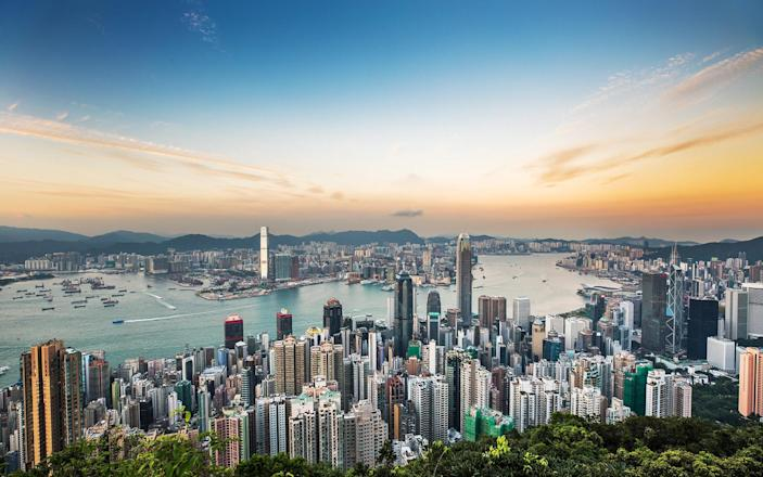 Victoria Harbour, one of Hong Kong's most iconic views - Getty