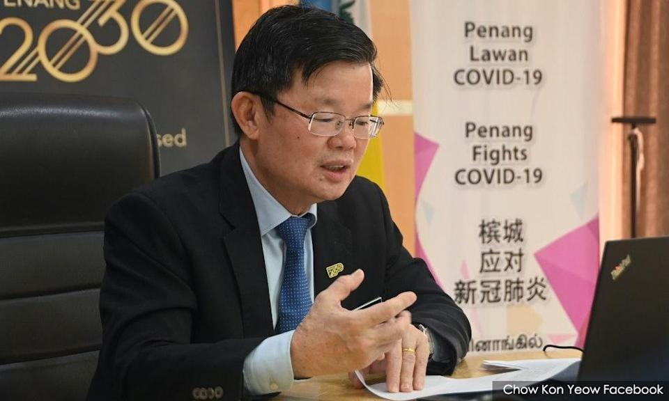 Penang approves RM20m assistance for MCO