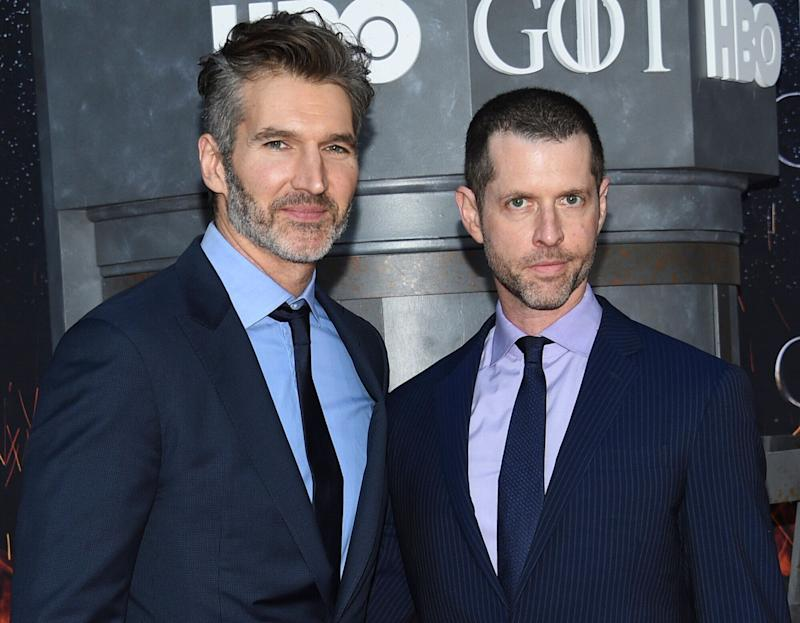 David Benioff and DB Weiss (Photo: Evan Agostini/Invision/AP)