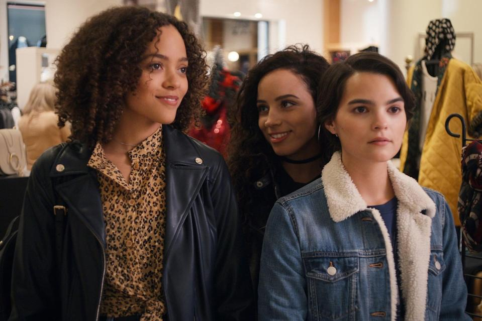 "<p>If the way the girls connect over their lives in <strong>The Wilds</strong> warmed your heart, you may want to check out <strong><a href=""https://www.popsugar.com/latest/Trinkets"" class=""link rapid-noclick-resp"" rel=""nofollow noopener"" target=""_blank"" data-ylk=""slk:Trinkets"">Trinkets</a></strong>. In the wake of grief, Tabitha Foster (<a href=""https://www.popsugar.com/entertainment/Trinkets-Netflix-Cast-46254304"" class=""link rapid-noclick-resp"" rel=""nofollow noopener"" target=""_blank"" data-ylk=""slk:Quintessa Swindell"">Quintessa Swindell</a>) bonds with classmates in a Shoplifters Anonymous group. </p> <p><a href=""https://www.netflix.com/search?q=dare%20me&amp;jbv=80230561"" class=""link rapid-noclick-resp"" rel=""nofollow noopener"" target=""_blank"" data-ylk=""slk:Watch Trinkets on Netflix."">Watch <strong>Trinkets</strong> on Netflix.</a></p>"