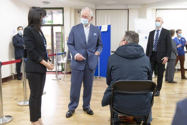 Royal visit to Finsbury Park Mosque