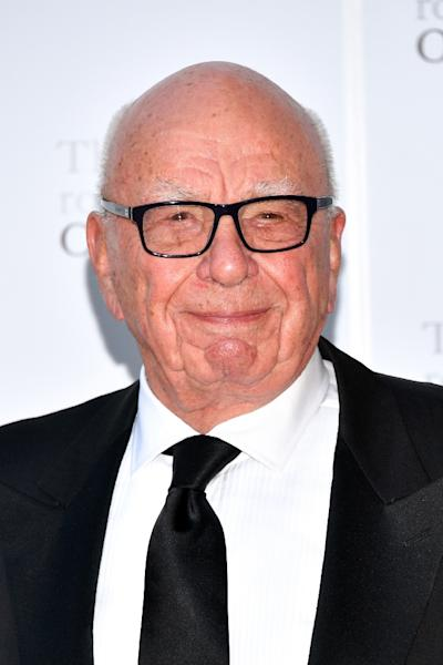 "News Corp. founder Rupert Murdoch says Facebook can attack the ""fake news"" problem better by paying ""trusted"" news organizations (AFP Photo/Dia Dipasupil)"