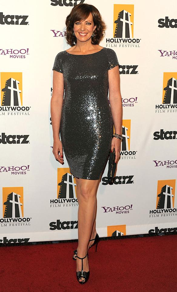 "<a href=""http://movies.yahoo.com/movie/contributor/1800018559"">Allison Janney</a> at the 15th Annual Hollywood Film Awards in Beverly Hills, California on October 24, 2011."