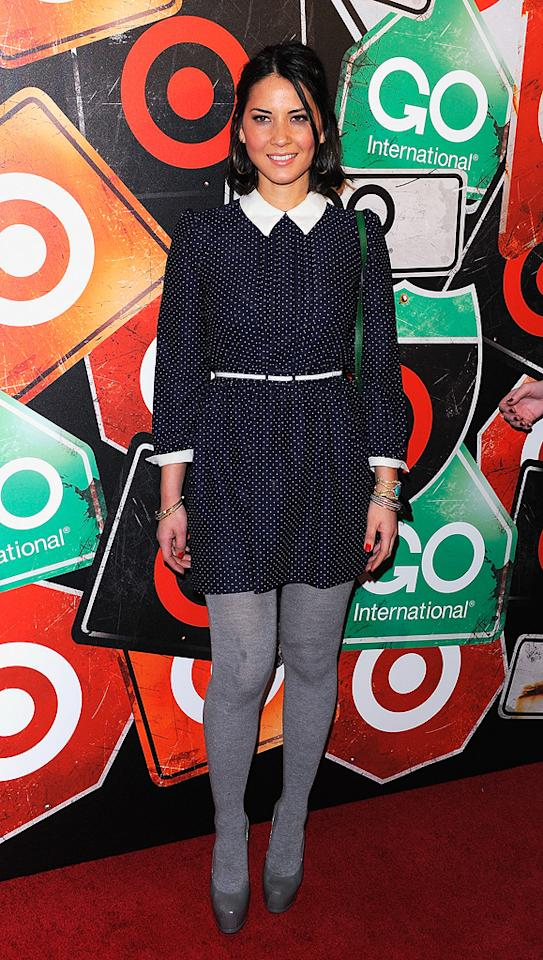 "The fashionable crowd, including ""Iron Man 2"" actress Olivia Munn, snacked on clam ceviche and steak tartar while enjoying performances from Santigold and '80s legend Sheila E. at the event, which was held at the Opening Ceremony outpost in the uber-hip Ace Hotel. Andrew H. Walker/<a href=""http://www.gettyimages.com/"" target=""new"">GettyImages.com</a> - March 10, 2011"