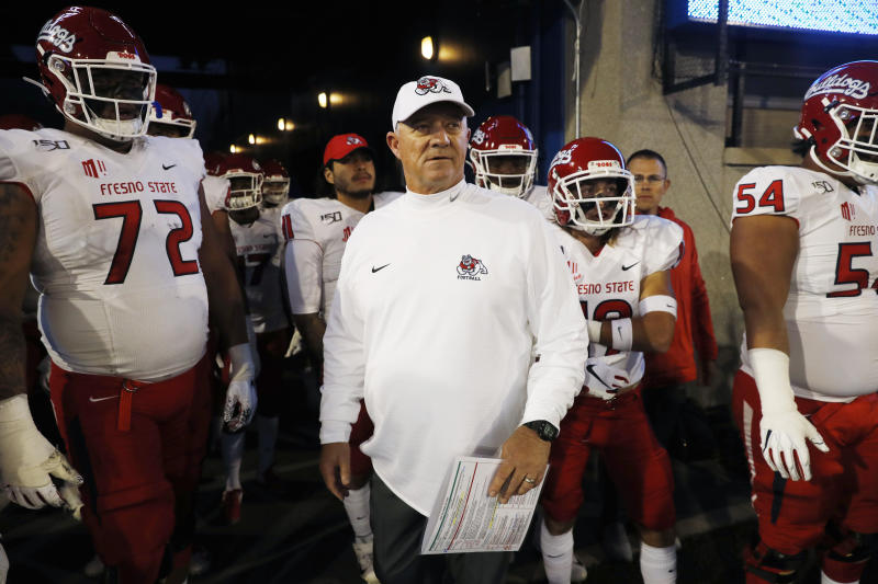 Tedford announces departure at Fresno State